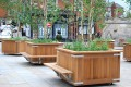 20pke02 - Kensington planters with Henley planter benches