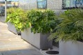 33p15 - Gretton stainless steel planters