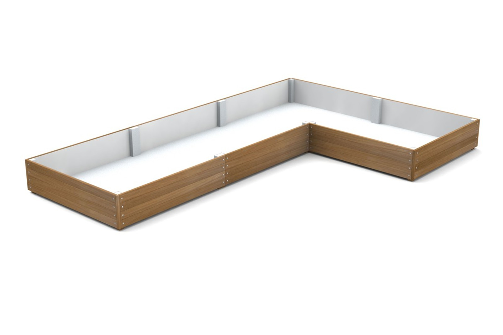 41pgr33 - Large L-shaped Grenadier planter