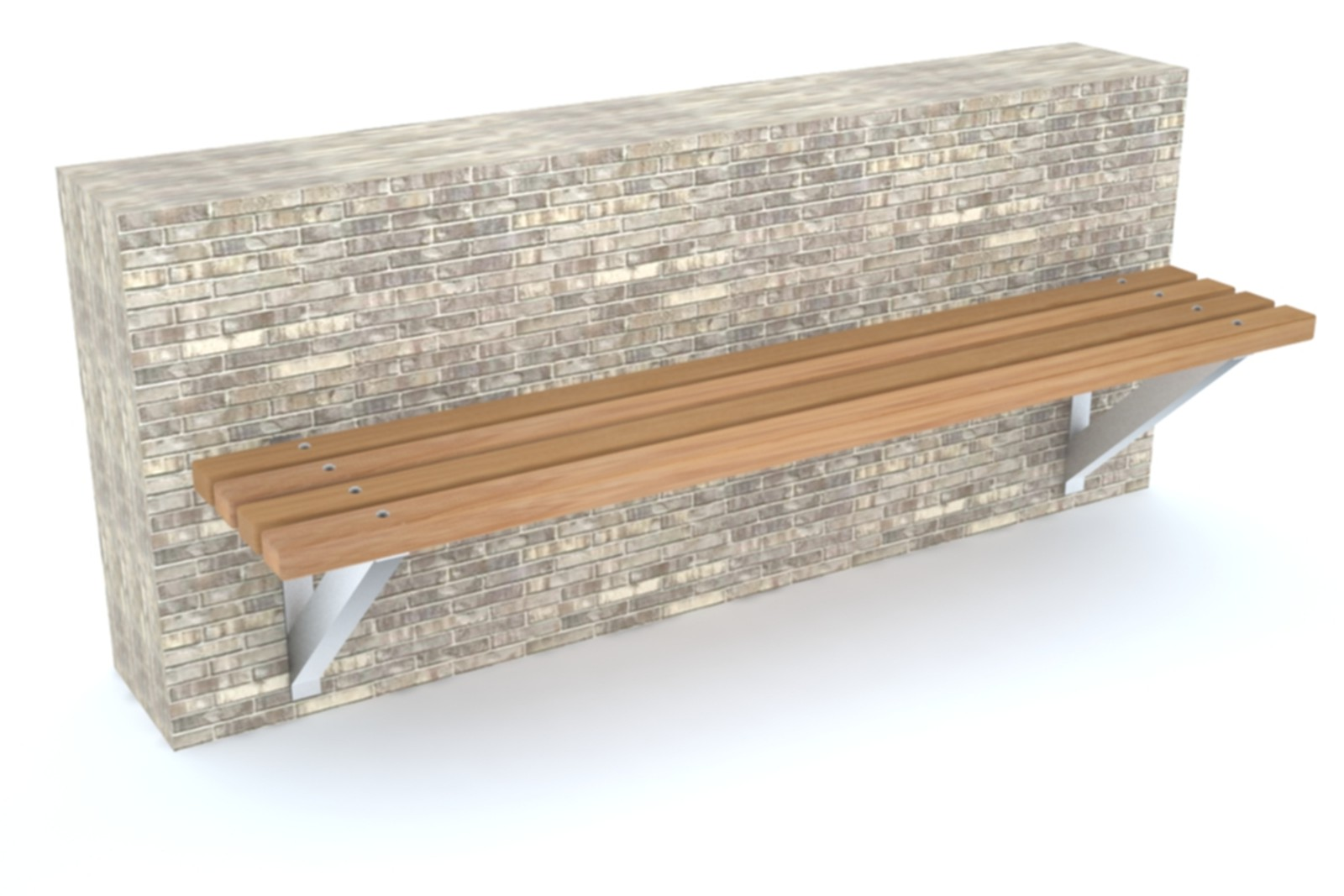 60sbe08 - Bexley side fixed wall mounted bench