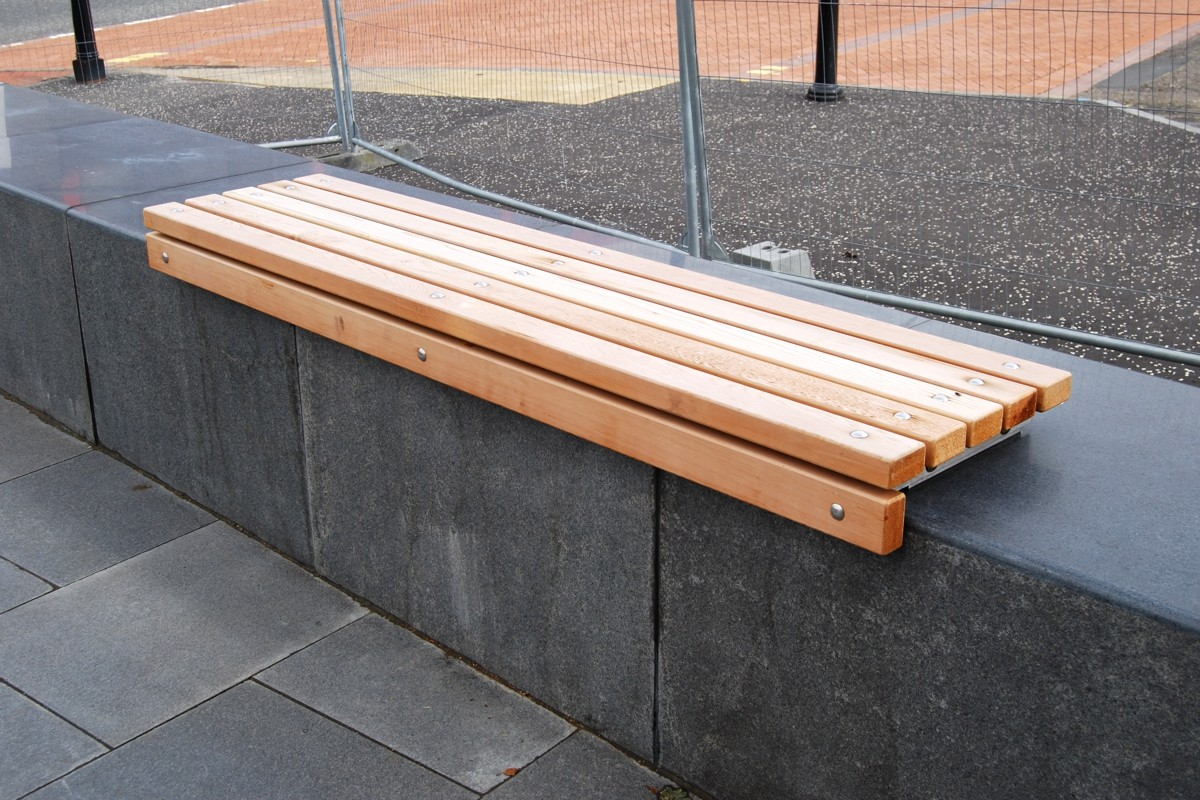 77sba02 - bathgate wall mounted bench