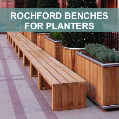 Rochford Planter Benches by Street Design