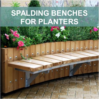 Spalding Planter Benches by Street Design