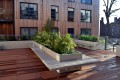 c12409 - Crest Homes development, roof garden planters