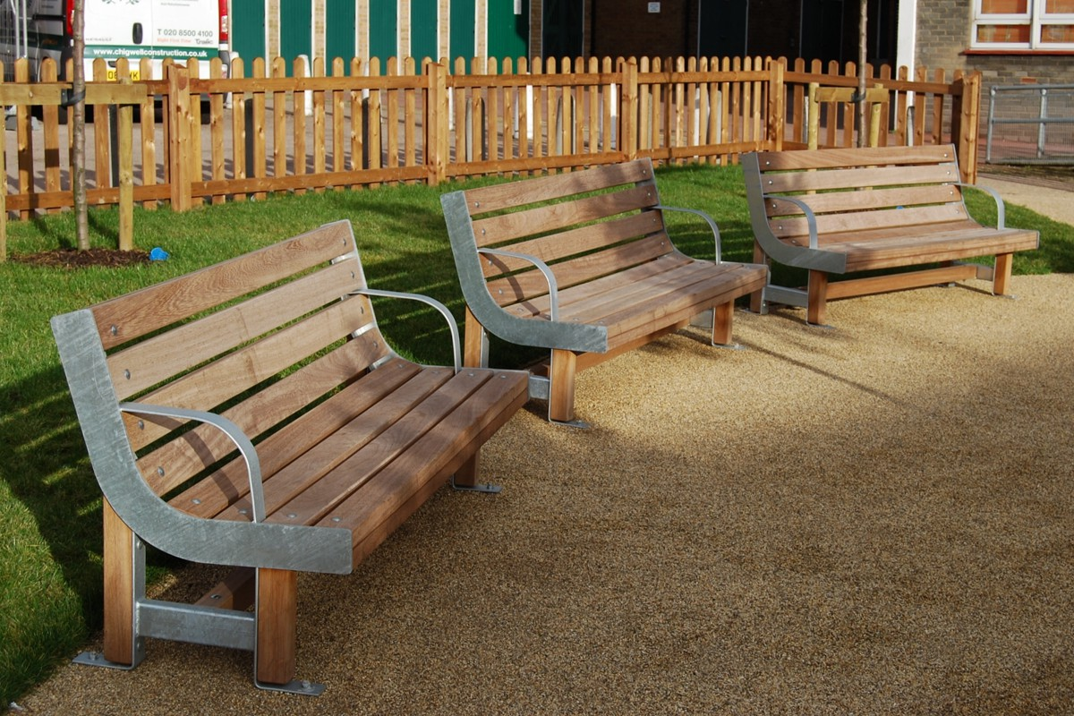 standard seating from a wide range of designs and materials,