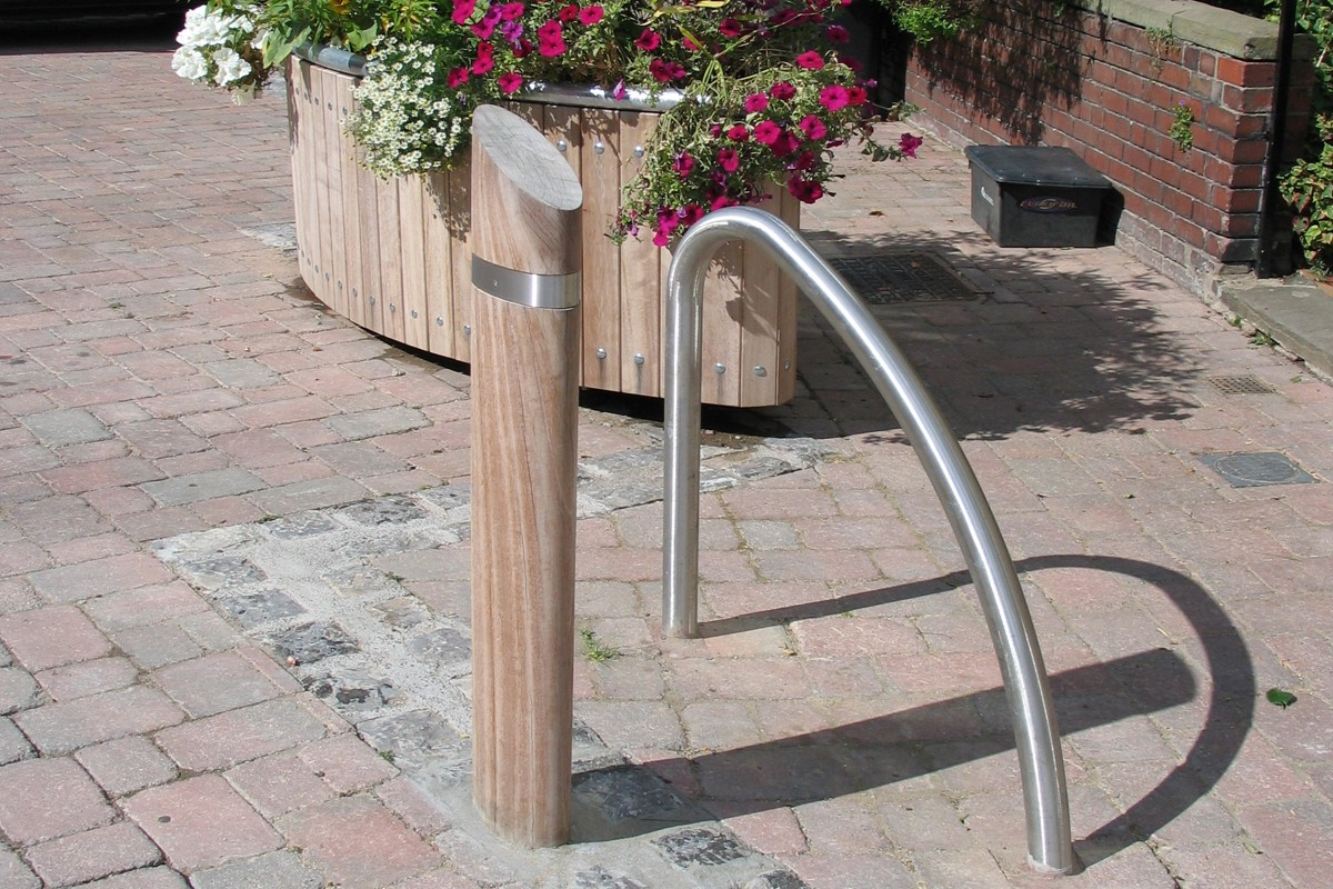 co-ordinated street furniture.