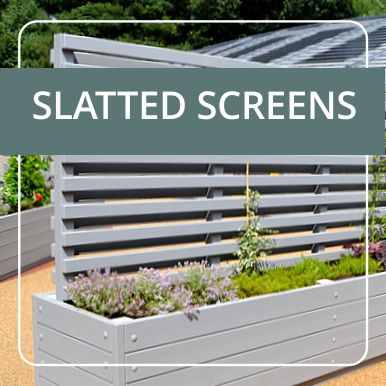 Slatted Screens by Street Design