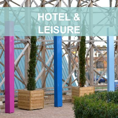 Hotel and leisure projects by Street Design