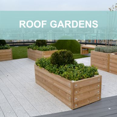 Roof Garden Projects by Street Design
