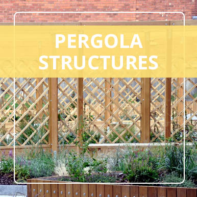 Pergola structures by Street Design
