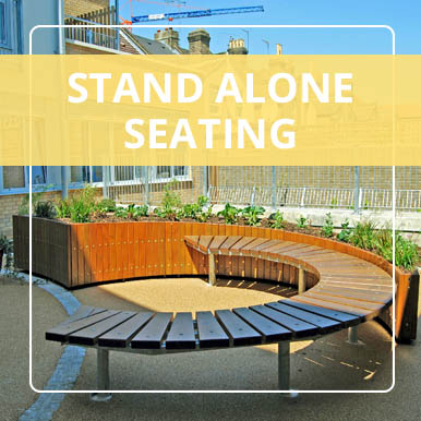 Stand alone seating by Street Design