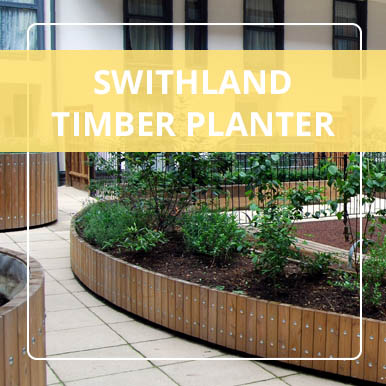 Swithland Timber Planters by Street Design
