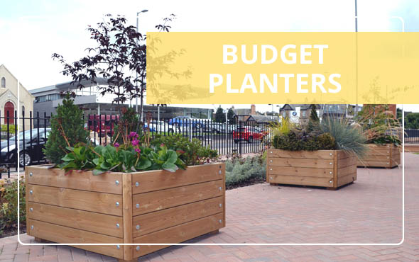 Budget Planters by Street Design