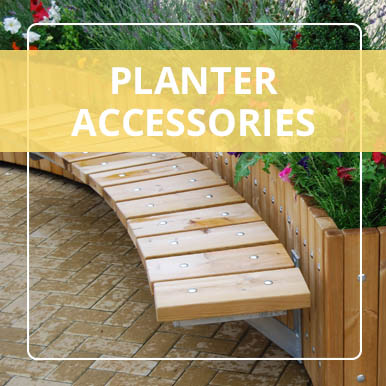 Planter Accessories by Street Design