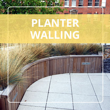 Planter Walling by Street Design