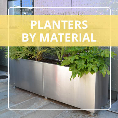 Planters by Material