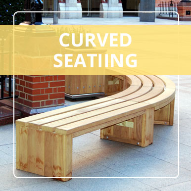 Curved Seating Solutions by Street Design