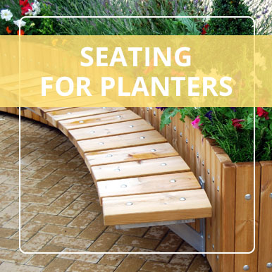 Seating for Planters by Street Design