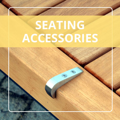 Seating Accessories by Street Design