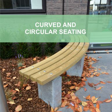 Curved & Circular Seating by Street Design