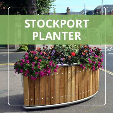 Stockport Planters by Street Design