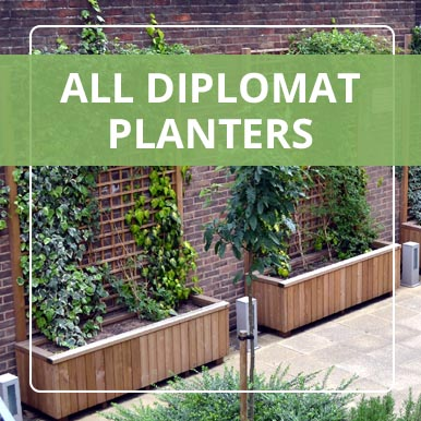 Diplomat Planters by Street Design