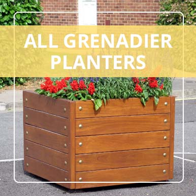 Versatile Grenadier Planters from Street Design