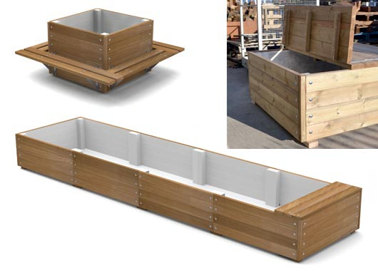 Planter with Seating from Street Design