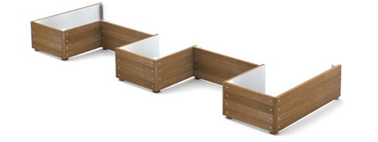 Grenadier Planter Walling by Street Design