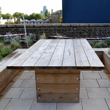 Grenadier Tables by Street Design