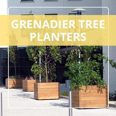 Versatile Grenadier Tree Planters from Street Design