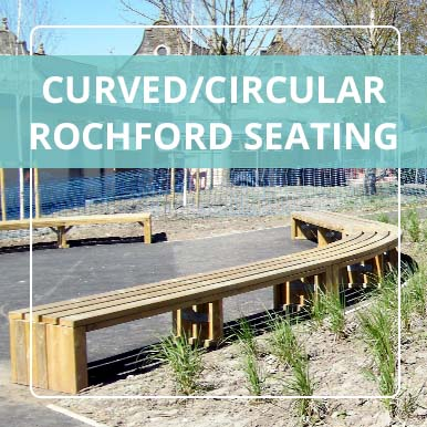 Curved/Circular Rochford Seating by Street Design
