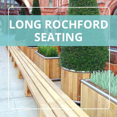 Long Rochford Seating by Street Design