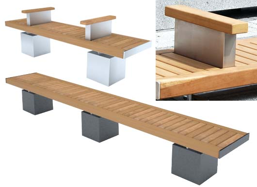 Versatile Seating by Street Design