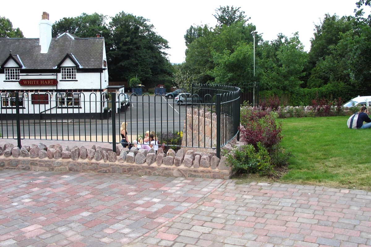 Quorn Village Centre - Seating, railings, handrails and ...